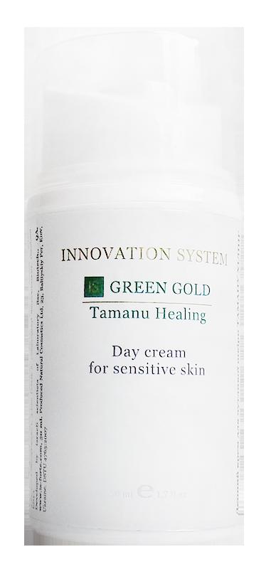 Дневной крем для чувствительной кожи Таману Хилинг